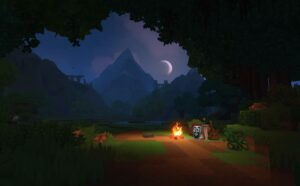 Hytale night time