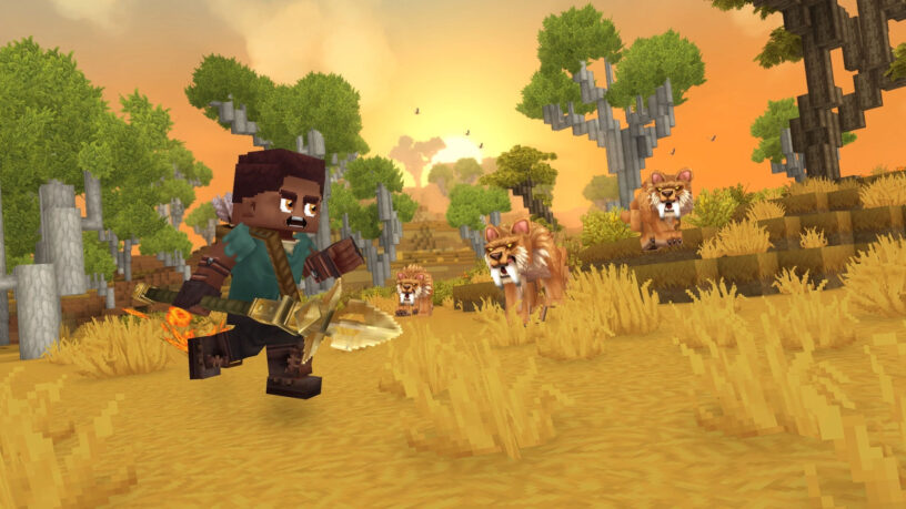 Hytale saber tooth tigers