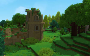 Hytale generated landscape
