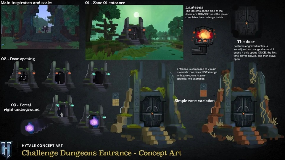 Hytale Challenge Dungeons Entrance