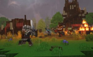 Hytale Camp battle