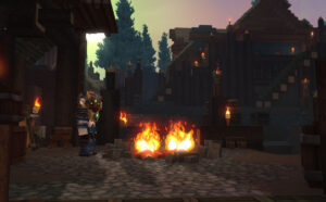 Hytale campfire