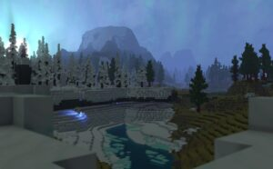 Hytale Borea Zone 3 River ice and snow