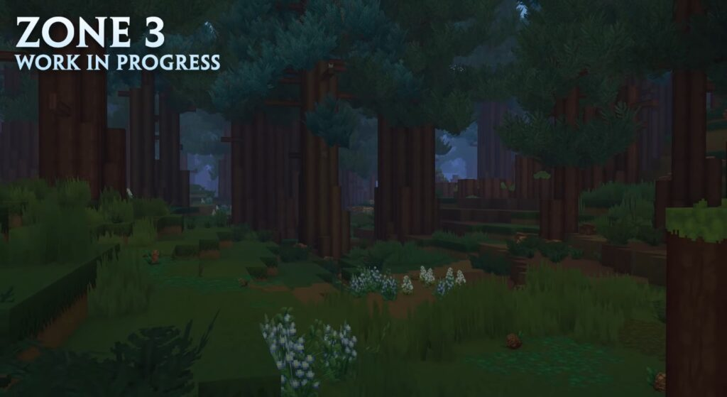 Hytale Borea Zone 3 Trees Forest