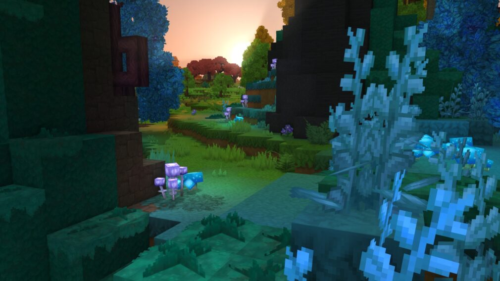 Hytale Emerald Grove Zone 1 forest