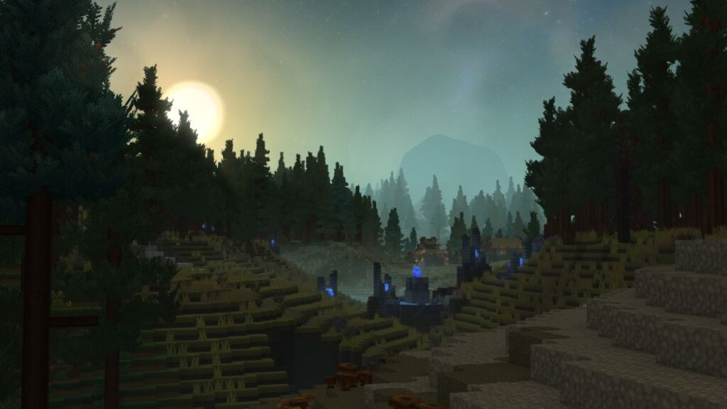 Hytale Borea Zone 3 Hills and Trees