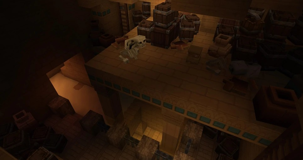 Hytale Howling Sands Zone 2 Cave