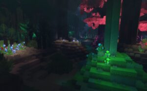 Hytale night forest