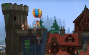 Hytale hot air balloon
