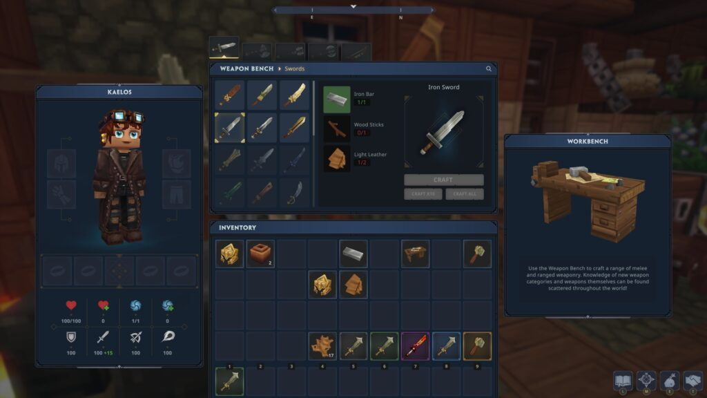 hytale inventory UI
