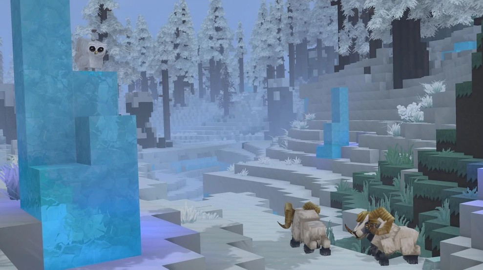 Hytale Ram snow