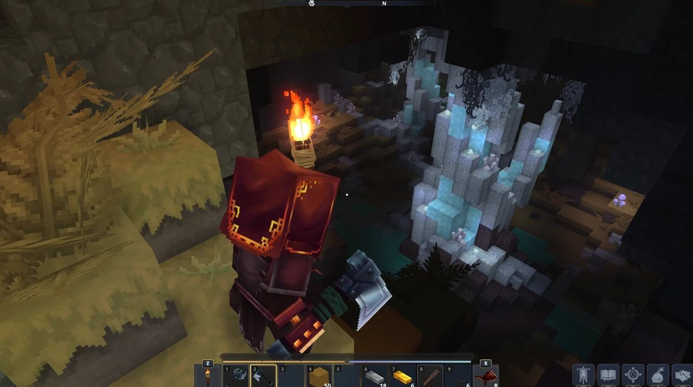 Hytale cave