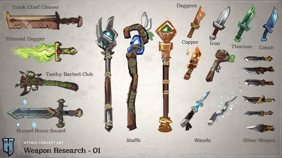 Hytale Weapons