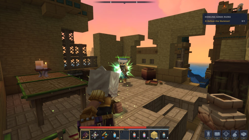 Howling Sands Zone 2 Hytale