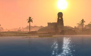 Hytale Desert Sunrise