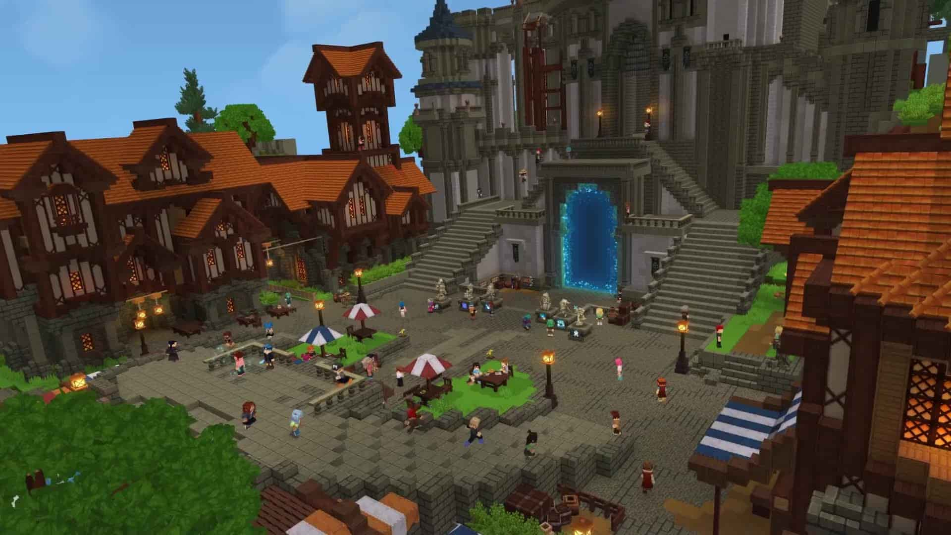 Hytale Server Lobby Minigames