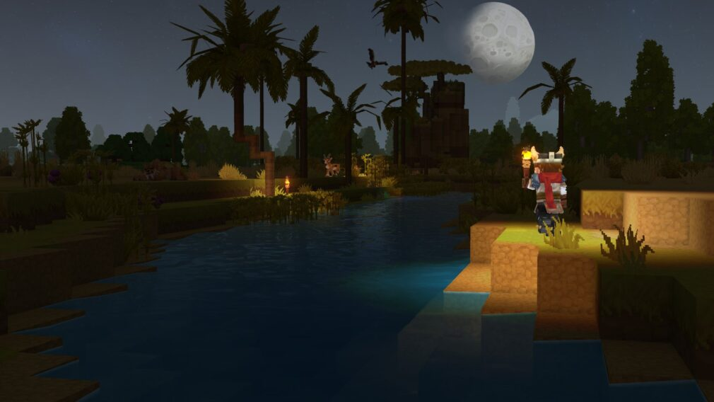 Hytale night time Howling Sands Zone zone 2
