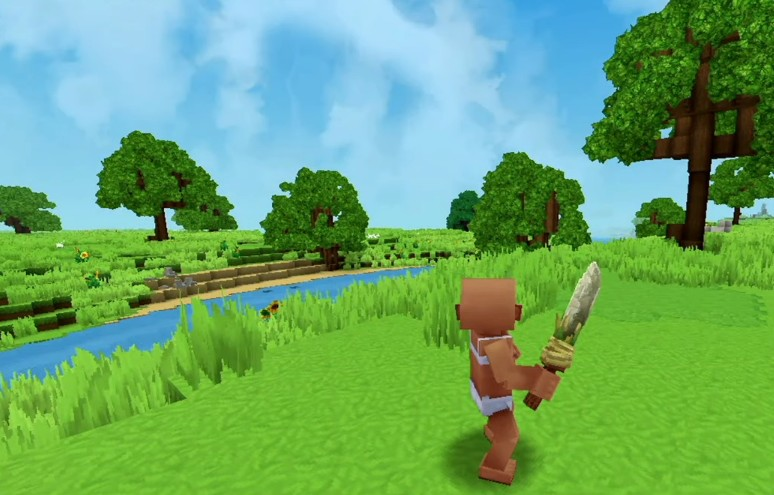 Hytale Early prototype