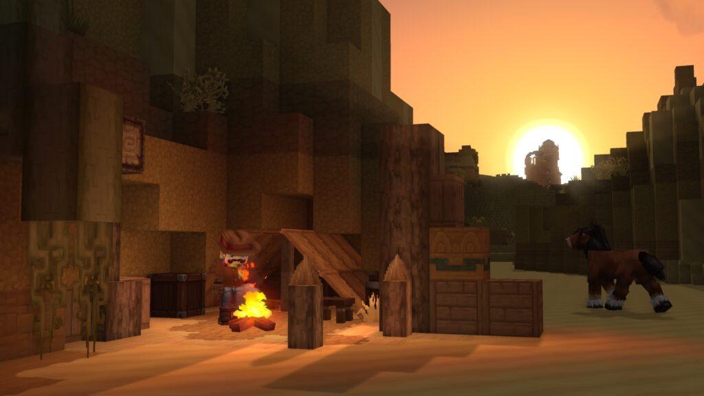 Hytale Desert Campfire